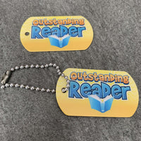 Outstanding Reader BragTags Classroom Rewards:Primary Classroom Resources