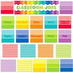 Painted Palette Classroom Jobs Classroom Mini Display Set:Primary Classroom Resources
