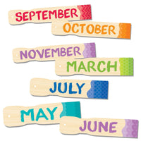 Painted Palette Months of the Year Headlines:Primary Classroom Resources