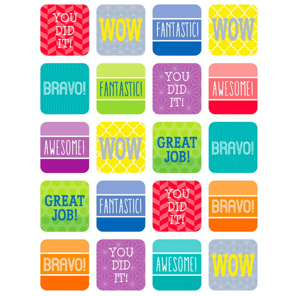 Painted Palette Positive Classroom Reward Stickers:Primary Classroom Resources