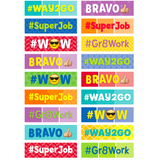 Painted Palette Social Media Classroom Reward Stickers:Primary Classroom Resources