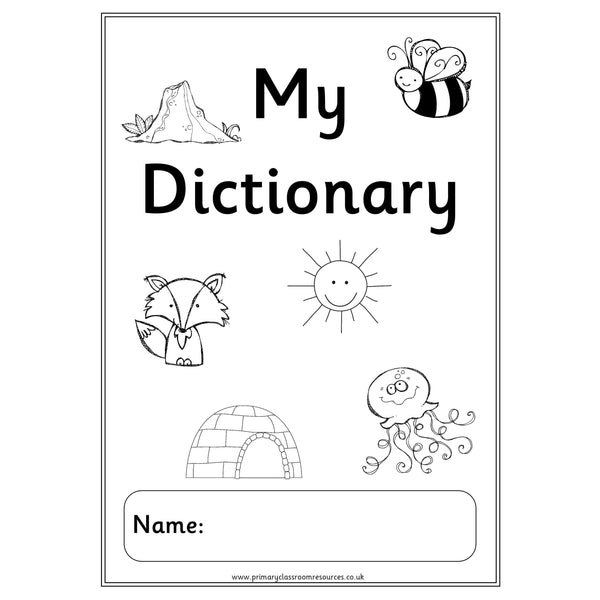 My Dictionary (Black and White)