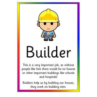People Who Help Us Job Information Posters:Primary Classroom Resources