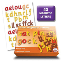 Phase 2 Foam Magnetic Letters:Primary Classroom Resources
