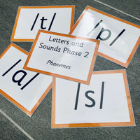 Phase 2 Phonemes:Primary Classroom Resources