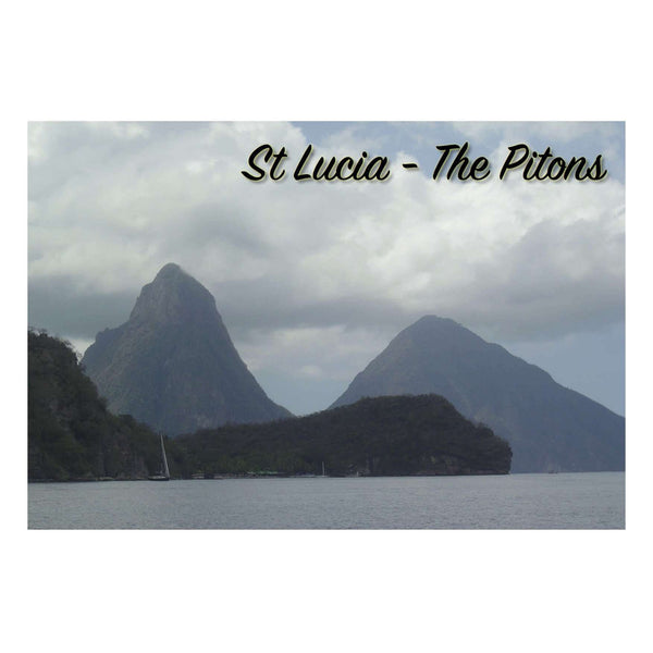 Postcards from Tom St Lucia