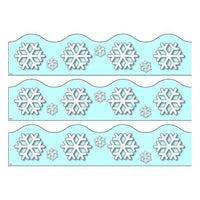 Print Your Own Display Border - Snowflakes:Primary Classroom Resources