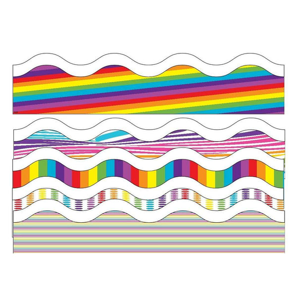 Print Your Own Display Borders - Rainbow Design