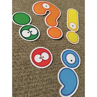 Punctuation Cut Outs:Primary Classroom Resources