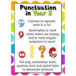 Punctuation in Year 2:Primary Classroom Resources