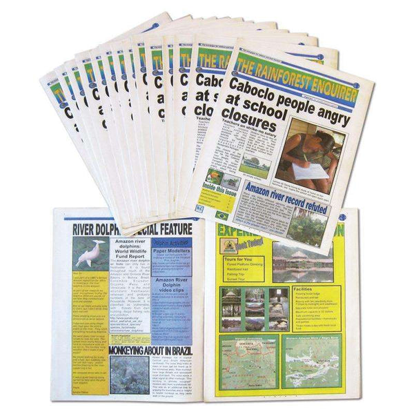 Rainforest Enquirer:Primary Classroom Resources
