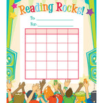 Reading Rocks Student Incentive Chart