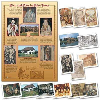 Rich & Poor in Tudor Times Poster & Photo pack