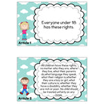 Rights of a Child Display Cards:Primary Classroom Resources