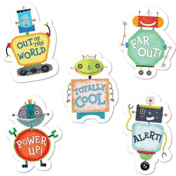 Riveting Robots Stickers:Primary Classroom Resources