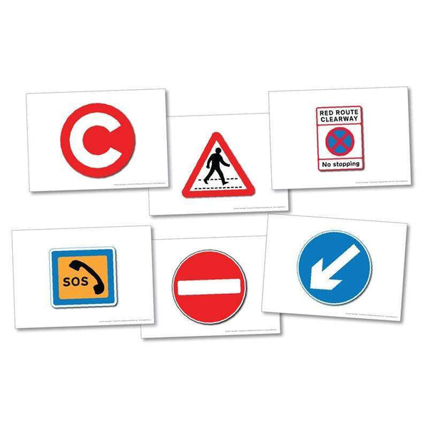 Road Signs Cards:Primary Classroom Resources