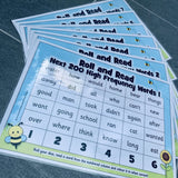 Roll and Read - Letters and Sounds Next 200 High Frequency Words:Primary Classroom Resources