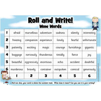 Roll and Write - Wow Words