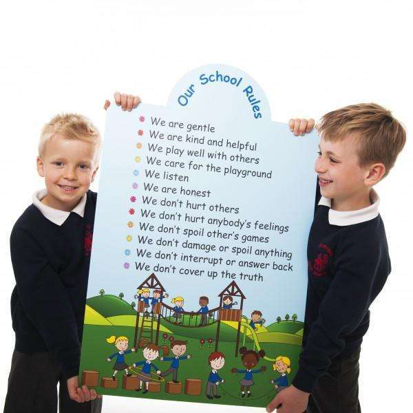 School Rules Sign