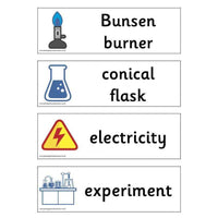 Science Lab Labels:Primary Classroom Resources