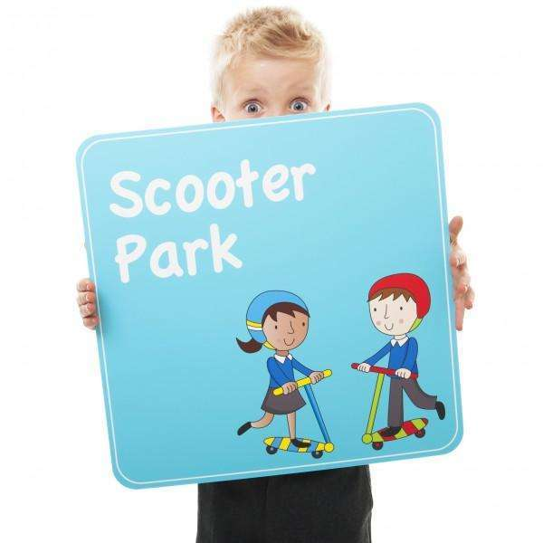 Scooter Park Sign:Primary Classroom Resources