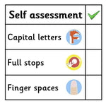 Self Assessment Marking Stickers - Set 1