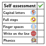 Self Assessment Marking Stickers - Set 3