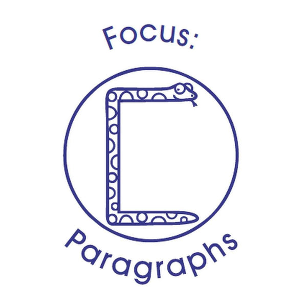 Self Inking Stamper - Focus: Paragraphs:Primary Classroom Resources