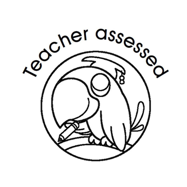 Self Inking Stamper - Teacher Assessed:Primary Classroom Resources