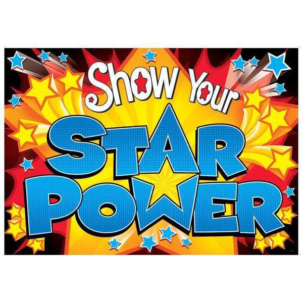 Show Your Star Power - Argus Poster:Primary Classroom Resources