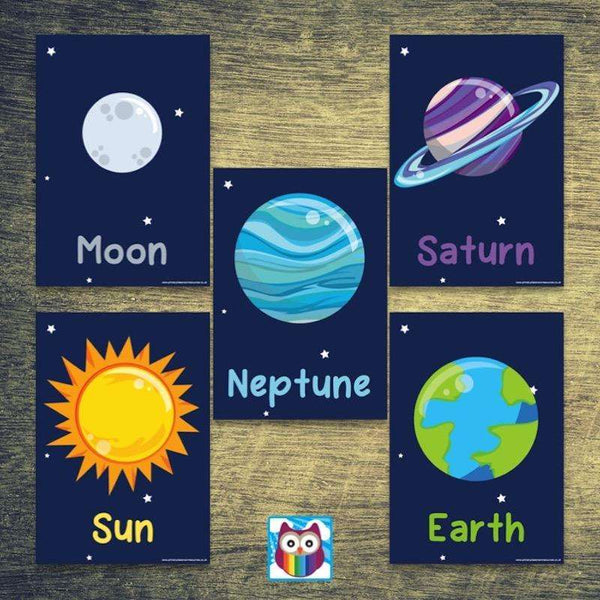 Simple Solar System Posters:Primary Classroom Resources