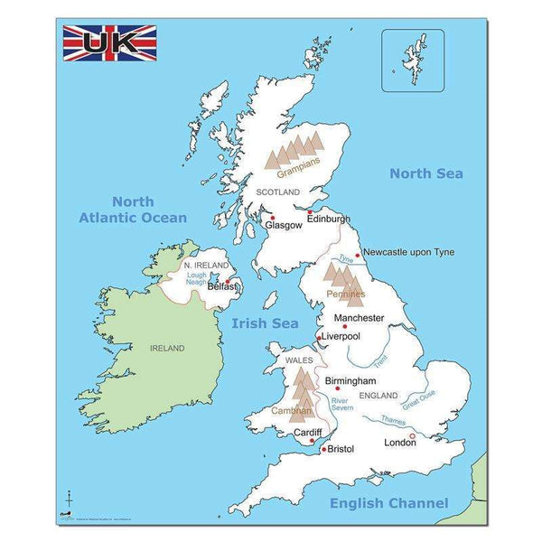 Simple UK Map