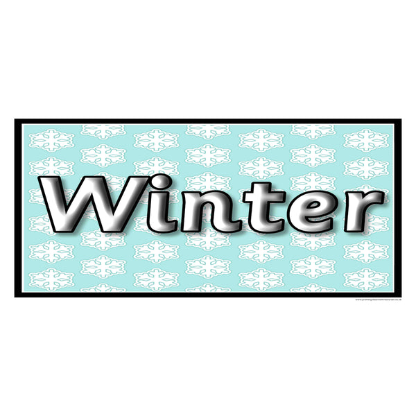 Snow/Winter Display Resources Pack