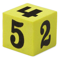 Soft Foam Number Dice - Pack of 5