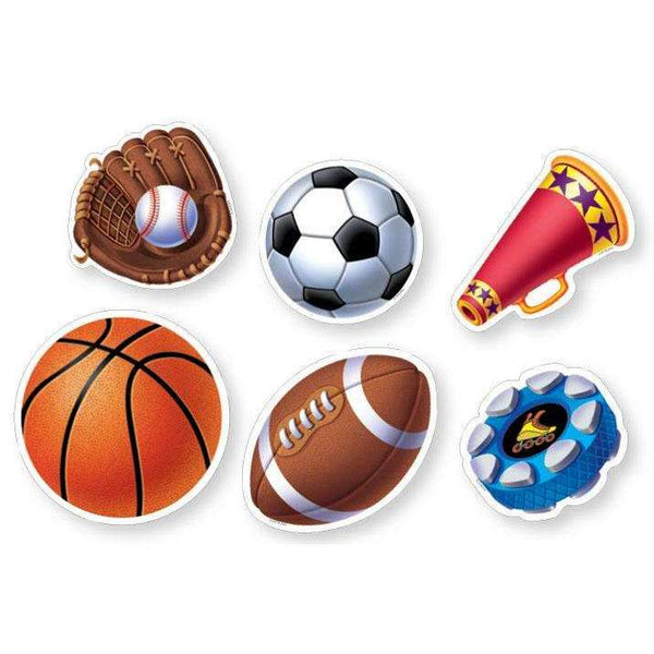 "Sports 6"" Designer Cut-Outs Variety Pack:Primary Classroom Resources"