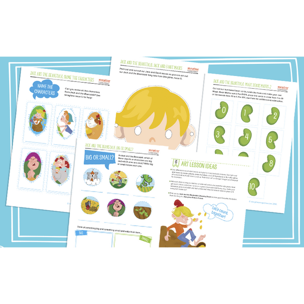 Storytime Resource Pack - Jack and the Beanstalk:Primary Classroom Resources
