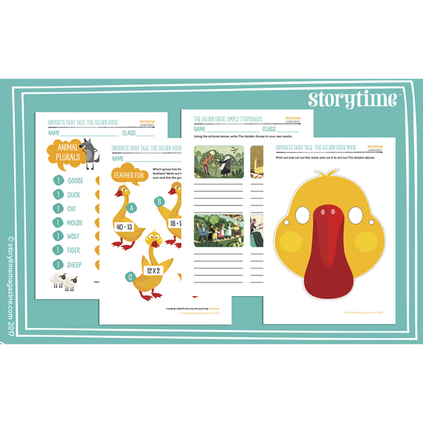 Storytime Resource Pack - The Golden Goose:Primary Classroom Resources
