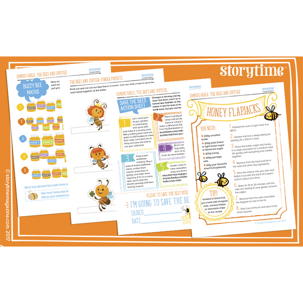 Storytime Resource Pack - Bees