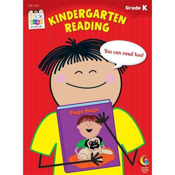 Stick Kids Workbook - Kindergarten Reading - Grade K - (Age 5)
