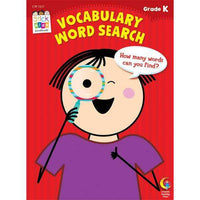 Stick Kids Workbook - Vocabulary Word Search - Grade K - (Age 5)