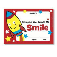 Sticky Certificates - Smile:Primary Classroom Resources