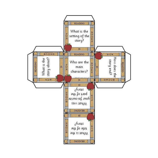 Story Comprehension Cubes