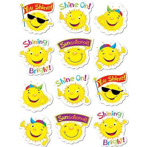 Suns Stickers:Primary Classroom Resources