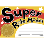 Super Role Model Reward Certificates:Primary Classroom Resources