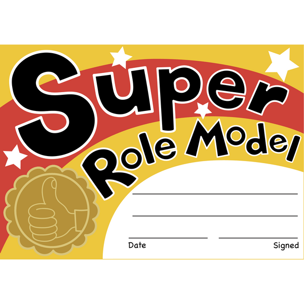 Super Role Model Reward Certificates