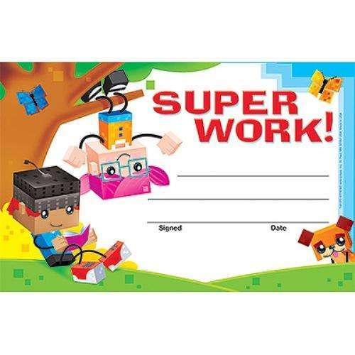 Super Work BlockStars! Recognition Awards:Primary Classroom Resources
