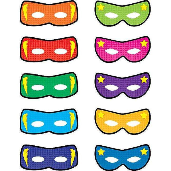 Superhero Masks Accents:Primary Classroom Resources
