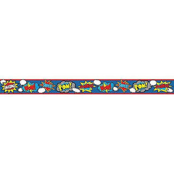 Superhero Straight Display Border