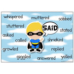 Superhero Synonyms Display Pack:Primary Classroom Resources