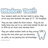 Teeth Information Posters:Primary Classroom Resources